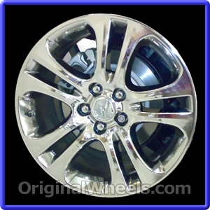 oem 2009 acura mdx rims used factory wheels from. Black Bedroom Furniture Sets. Home Design Ideas