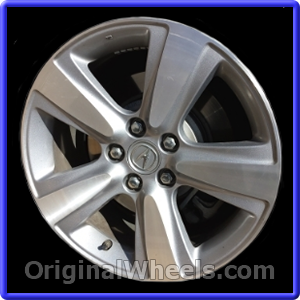 oem 2010 acura mdx rims used factory wheels from. Black Bedroom Furniture Sets. Home Design Ideas