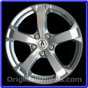 oem 2010 acura tl rims used factory wheels from. Black Bedroom Furniture Sets. Home Design Ideas