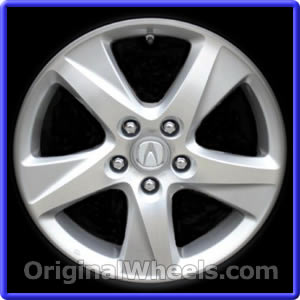 oem 2010 acura tsx rims used factory wheels from. Black Bedroom Furniture Sets. Home Design Ideas