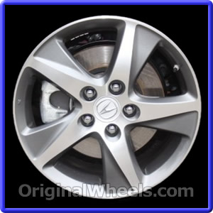 oem 2012 acura tsx rims used factory wheels from. Black Bedroom Furniture Sets. Home Design Ideas
