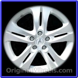 oem 2011 acura tsx rims used factory wheels from. Black Bedroom Furniture Sets. Home Design Ideas