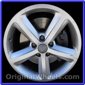 OEM 2007 Audi A4 Rims - Used Factory Wheels from OriginalWheels.com