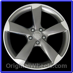 wheel audi rims lg silver p painted