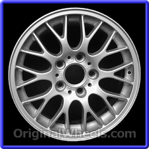 Oem 2000 Bmw 323i Rims Used Factory Wheels From