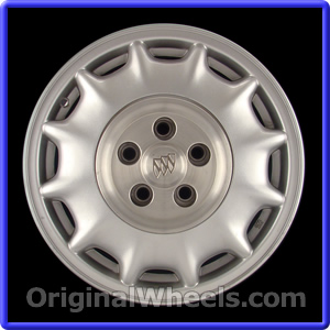 Re Chrome Rims >> OEM 2002 Buick LeSabre Rims - Used Factory Wheels from ...