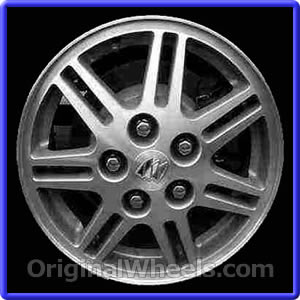 oem 2000 buick regal rims used factory wheels from. Black Bedroom Furniture Sets. Home Design Ideas