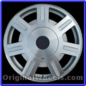 oem 2004 cadillac deville rims used factory wheels from. Black Bedroom Furniture Sets. Home Design Ideas