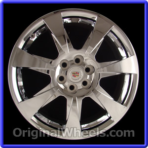 oem 2012 cadillac srx rims used factory wheels from. Black Bedroom Furniture Sets. Home Design Ideas