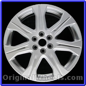 oem 2010 cadillac srx rims used factory wheels from. Black Bedroom Furniture Sets. Home Design Ideas