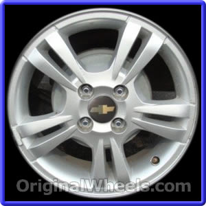 oem 2010 chevrolet aveo rims used factory wheels from. Black Bedroom Furniture Sets. Home Design Ideas