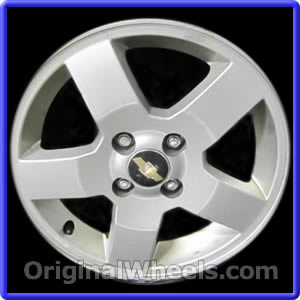 Oem 2008 chevrolet aveo rims used factory wheels from wheel part number 6614 2006 2008 chevrolet aveo publicscrutiny Images