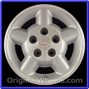 Chevrolet Blazers Wheels B on 2002 Chevrolet Blazer