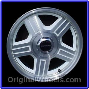 Oem 1992 Chevrolet Camaro Rims Used Factory Wheels From