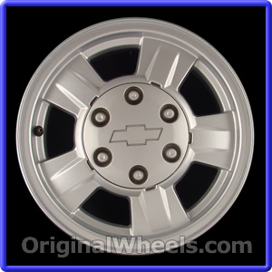 OEM 2008 Chevrolet Colorado Rims - Used Factory Wheels from ...