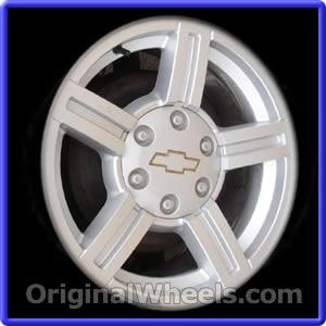 ... chevrolet colorado size 17 x 8 6 lug 5 5 bolt pattern finish silver