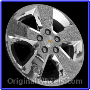 oem 2012 chevrolet equinox used factory wheels from. Black Bedroom Furniture Sets. Home Design Ideas