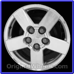 OEM 2005 Chevrolet Equinox- Used Factory Wheels from ...