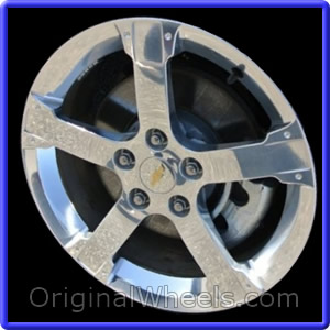 oem 2008 chevrolet equinox used factory wheels from. Black Bedroom Furniture Sets. Home Design Ideas