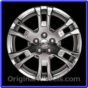 oem 2011 chevrolet equinox used factory wheels from. Black Bedroom Furniture Sets. Home Design Ideas