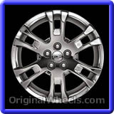 oem 2010 chevrolet equinox used factory wheels from. Black Bedroom Furniture Sets. Home Design Ideas