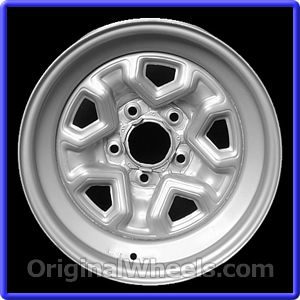 S10 Lug Pattern >> 1983 Chevrolet S 10 Rims 1983 Chevrolet S 10 Wheels At