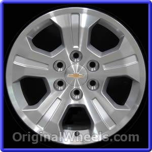 Wheel Part Number Ow5647 2017 2018 Chevrolet Silverado