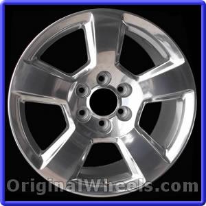"""20/"""" Chevrolet Silverado 2016 2017 2018 Factory OEM Rim Wheel 5652 5754 Silver"""