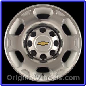 2008 Chevrolet Silverado Rims, 2008 Chevrolet Silverado Wheels at OriginalWheels.com