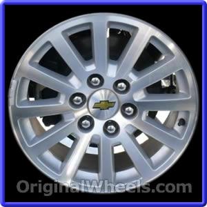 Wheel Part Number 5356 2008 2017 Chevrolet Tahoe Note Hybrid