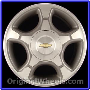 2008 Chevrolet Trailblazer Rims, 2008 Chevrolet ...