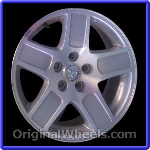 2006 Dodge Charger Rims, 2006 Dodge Charger Wheels at OriginalWheels.com