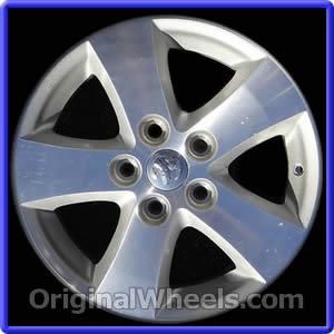 2009 Dodge Journey Rims, 2009 Dodge Journey Wheels at OriginalWheels.com
