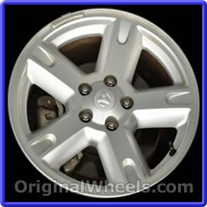 "Dodge Nitro 2007 2008 2009 2010 2011 17/"" Factory OEM Wheel Rim Silver"