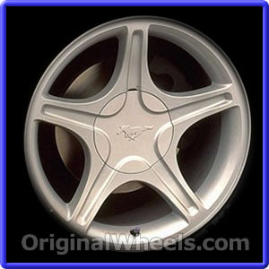 Black Ford Mustang Wheels | AmericanMuscle | Free Shipping