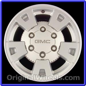 2007 GMC Canyon Rims, 2007 GMC Canyon Wheels at OriginalWheels.com