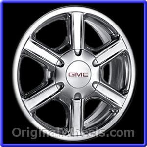 GMC ENVOY 17X7 OEM ALLOY WHEELS