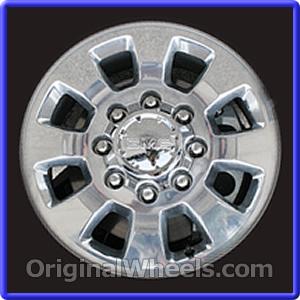 2011 GMC Sierra 2500 17' Wheels