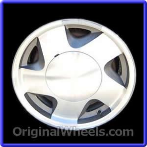 1998 chevy suburban wheel size