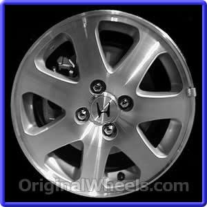 2000 honda civic rims 2000 honda civic wheels at for 1999 honda accord tire size