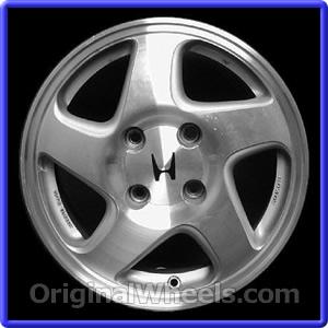 Honda Prelude Rims A B on 1993 Honda Prelude Silver
