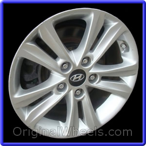 Wheel Part Number 70866 2017 Hyundai Sonata Note Accepts Tpms Not Included