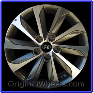 Wheel Part Number 70877 2017 Hyundai Sonata Note Accepts Tpms Not Included