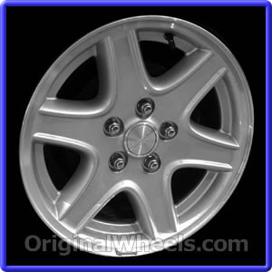 2003 jeep liberty wheel size