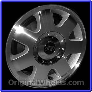 on 2003 Kia Sedona Rims  2003 Kia Sedona Wheels At Originalwheels Com