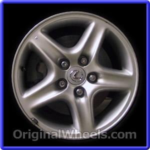 Lexus rx300 tire size 2000