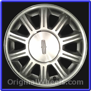 1999 lincoln continental rims 1999 lincoln continental wheels at originalwhe. Black Bedroom Furniture Sets. Home Design Ideas