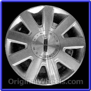2003 Lincoln Town Car Rims 2003 Lincoln Town Car Wheels At