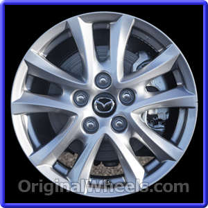 Captivating Wheel Part Number: #64961 2014 2016 Mazda 3