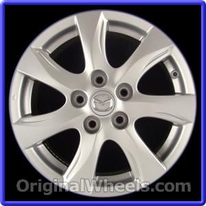 Wheel Part Number: #64927 2010 2011 Mazda 3